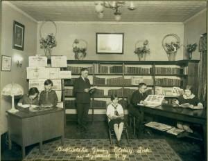1920s biblioteka